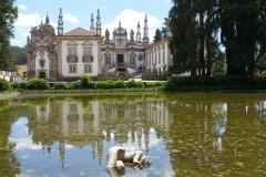 Palácio de Mateus bij Vila Real, naamgever van de Mateus Rosé.