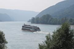 De Donau bij Melk.