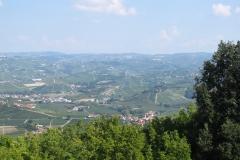 Uitzicht bij La Morra.